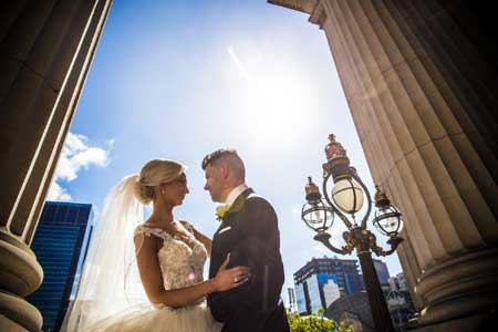 wedding photo and video package Melbourne